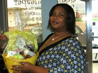 CONGRATULATIONS TO PENNIE EPPS WINNER OF OUR GIFT BASKET GIVEAWAY!