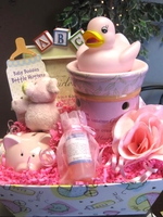 It's a Girl  New Mom Gift Basket