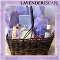 Lavender Escape Spa Basket