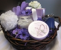 Lavender Pleasures Spa Basket