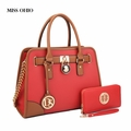 Miss Ohio Handbag with Wallet -RED