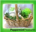 Peppermint Pleasures Spa Basket
