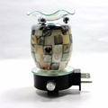 Shell Glass Electric Aroma Lamp FREE FRAGRANCE