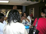 Teachers of Hood Elementary School Shopping at Private Spa Party