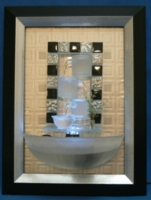 Wall Water Fountain in Frame