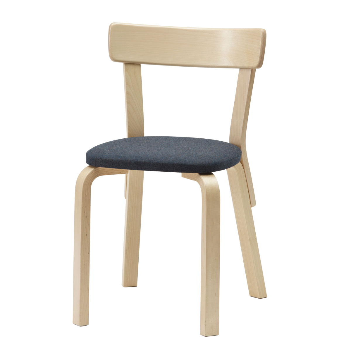 alvar aalto furniture. Artek Alvar Aalto - Chair 69 Birch Legs With Upholstered Seat Click To Enlarge Furniture