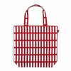 Artek Siena Red / White Canvas Tote Bag