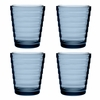 Iittala Aino Aalto Rain Medium Tumblers - Set of 4