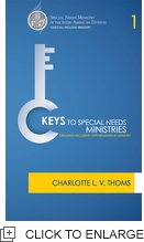 KEYS TO SPECIAL NEEDS MINISTRY
