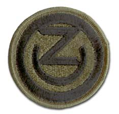102nd Army Reserve Command Subdued Military Patch