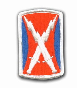 106th Signal Brigade Military Patch