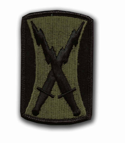 106th Signal Brigade Subdued Military Patch