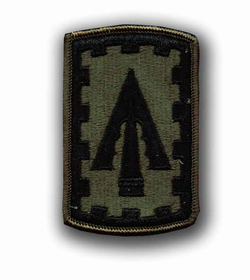 108th ADA Subdued Military Patch