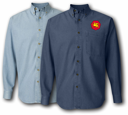 108th Training Division Denim Shirt