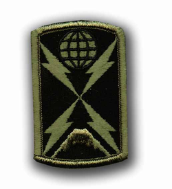 1104th Signal Brigade Subdued Military Patch