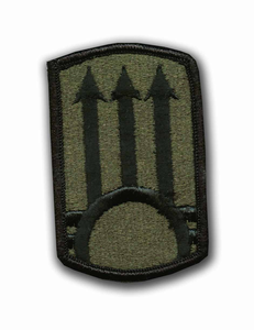 111th A.D.A. Subdued Military Patch