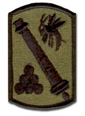 113th Field Artillery Brigade Subdued Military Patch