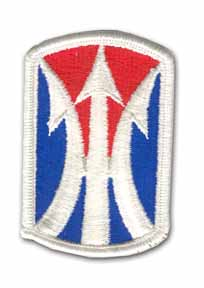 11th Infantry Brigade Military Patch