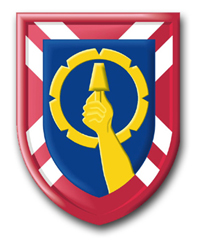 "121st Army Reserve Command 10"" Patch Decal"