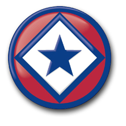 122nd Army Reserve Command Patch Decal