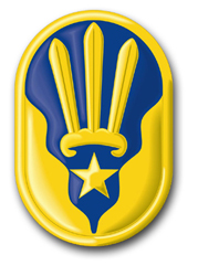 "123rd Army Reserve Command 11.75"" Patch Decal"