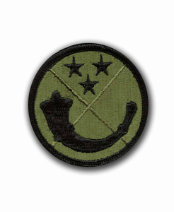 125th USARC Command Subdued Military Patch