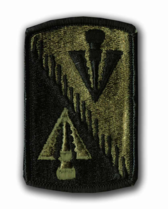 128th Aviation Brigade Subdued Military Patch