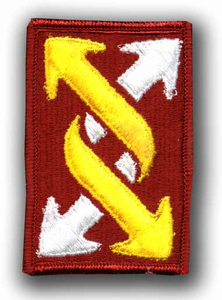 143rd Transportation Command Military Patch