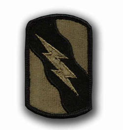 155th Armored Brigade Subdued Military Patch