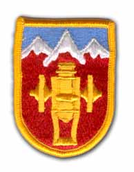 169th Field Artillery Brigade Military Patch