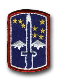 172nd Infantry Brigade Military Patch