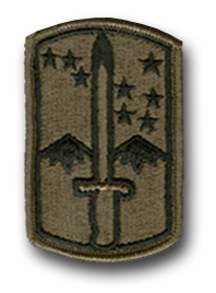 172nd Infantry Brigade Subdued Military Patch