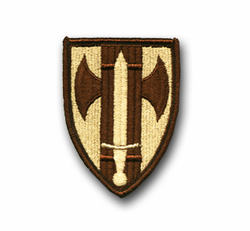 18th Military Police Brigade Desert Patch