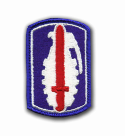 191st Infantry Brigade Military Patch