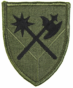 194th Armored Brigade Subdued 2-7/16 Inch Patch