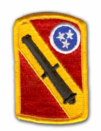 196th Field Artillery Brigade MIlitary Patch
