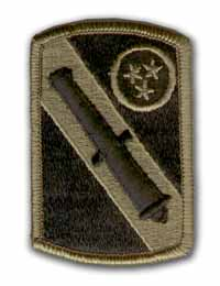 196th Field Artillery Brigade Subdued Military Patch