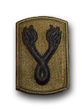 196th Infantry Brigade Subdued Military Patch