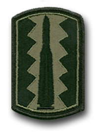 197th Infantry Brigade Subdued Military Patch