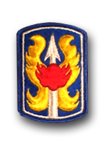 199th Infantry Brigade Military Patch