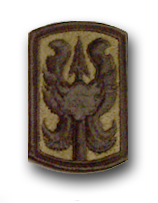 199th Infantry brigade Subdued Military Patch