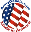 """1st Army Corps Unit Crest 3.8"""" Vinyl Transfer Decal"""