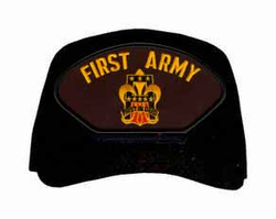 1st Army Crest Ball Cap
