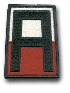 1st Army Military Patch