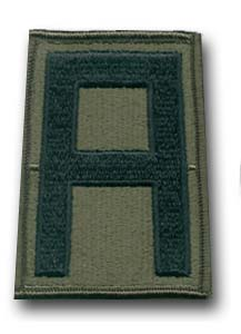 1st Army Subdued Military Patch