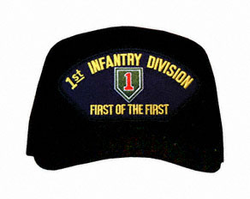 """1st Infantry Division """"First Of The First"""" Ball Cap"""