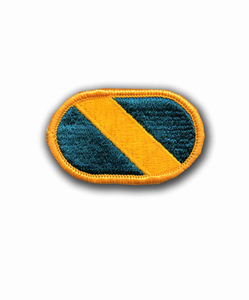1st Special Forces Oval Military Patch