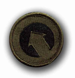 1st Support Command Subdued Military Patch