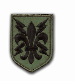 205th Military Intelligence Brigade Subdued Patch