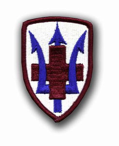 213th Medical Brigade Military Patch